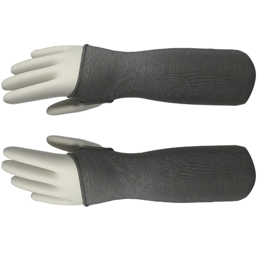 18in Gray Kyorene Pro Sleeve With Thumb Hole, ANSI A6
