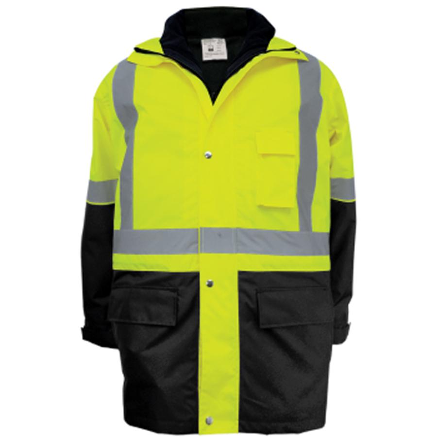 3-in-1 Class 3 Winter Parka Jacket, GLO-P2, Hi-Vis Yellow