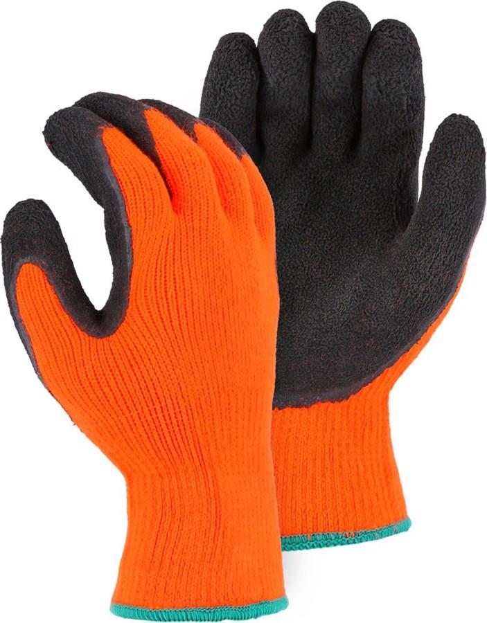 3396HON Polar Penguin Winter Lined Glove w Foam Latex Palm