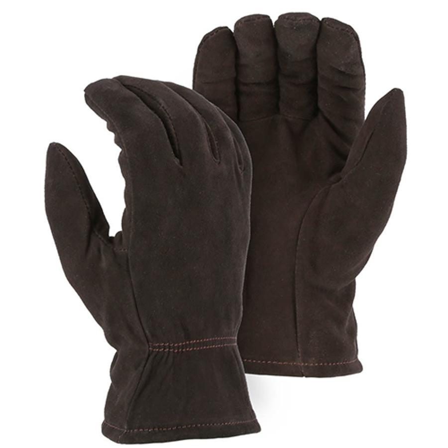 1548 Winter Lined Deerskin Drivers Glove