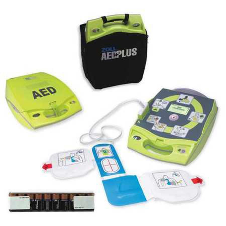 AED Pus Fully Automatic Defibrillator w/ Case and RX Prescription, 8000-004007-01