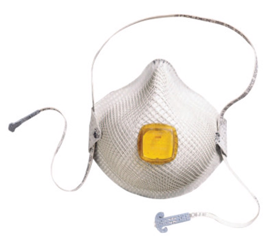 2800 Series HandyStrap N95 Particulate Respirators, Half-face piece, M/L