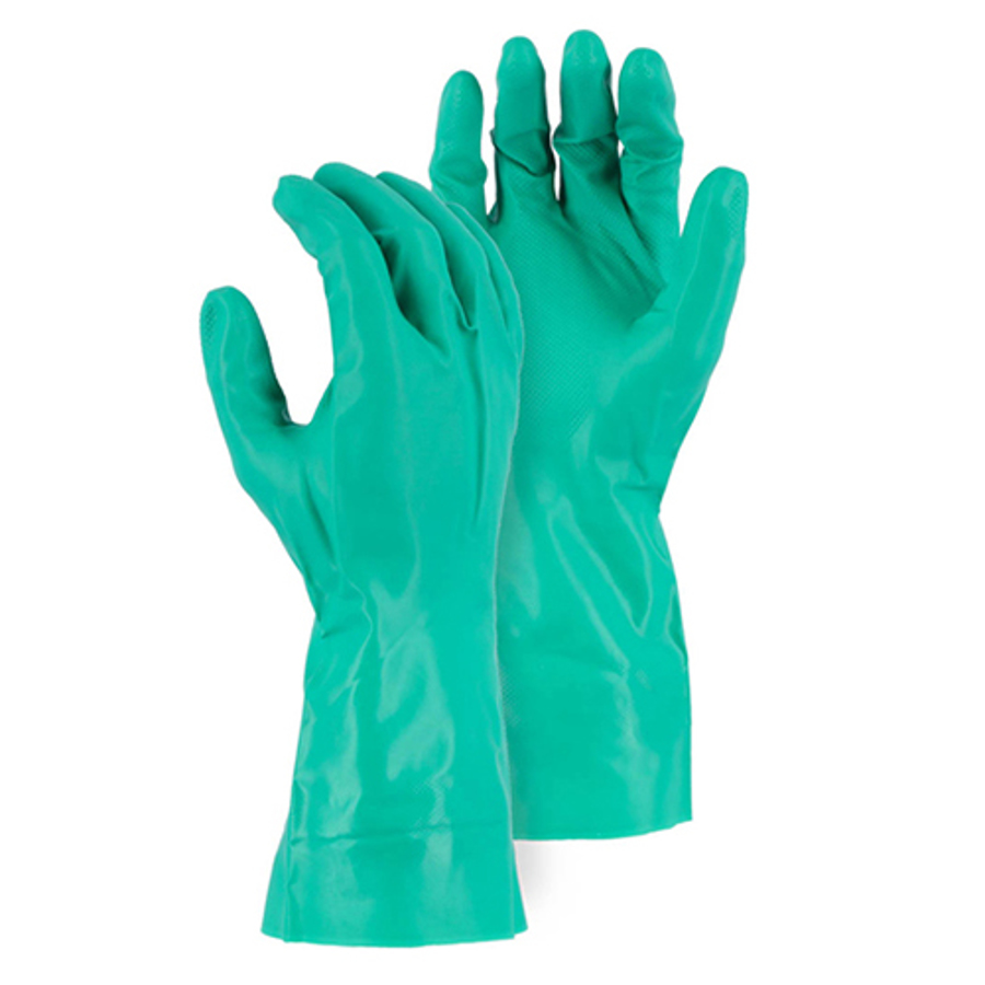 3240 11 MIL Unlined Nitrile 12 Glove with Diamond Pattern