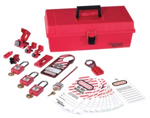 Safety Series Personal Lockout Kits, Electrical, Zenex Thermoplastic Padlocks