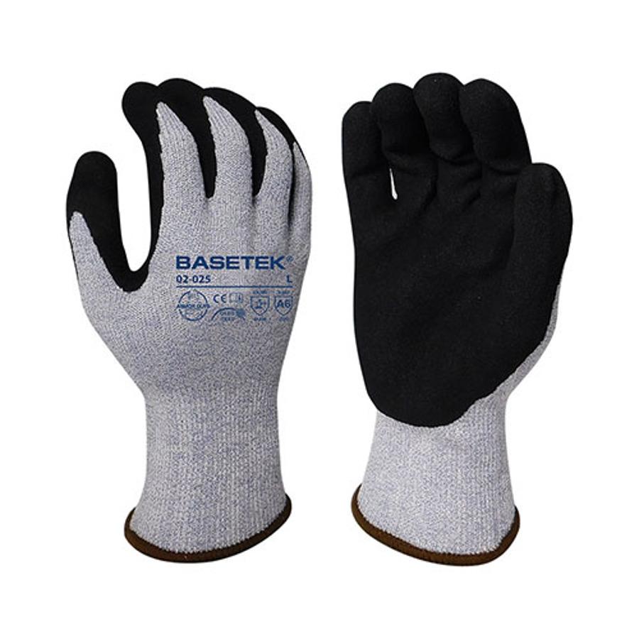 Armor Guys, Cut Level A6, Black Micro Foam Nitrile Palm Coating, 13 Ga, 02-025