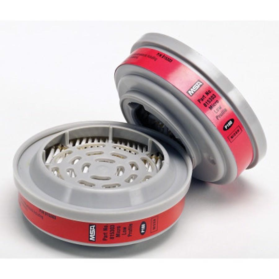 Advantage Respirator Cartridge, Low Profile, P100
