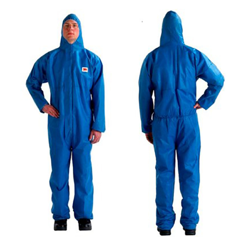 4515 Blue Disposable Protective Coveralls