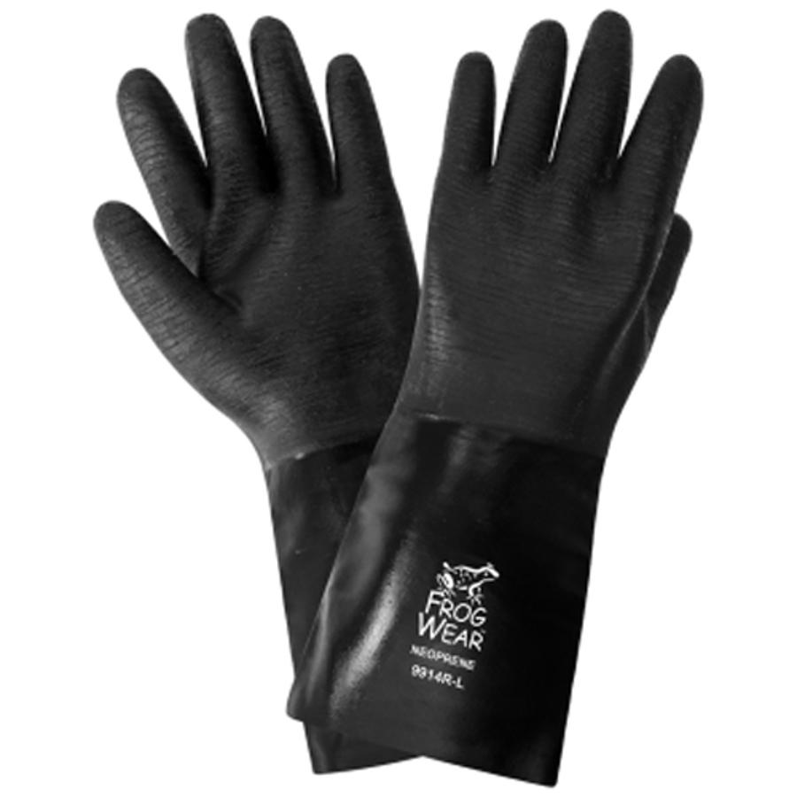 9914R- FrogWear - Premium Neoprene Chemical Handling Gloves