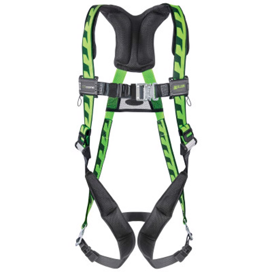 AirCore (Steel) Stretchable Harness, AC-QC/UGN, Green, Universal