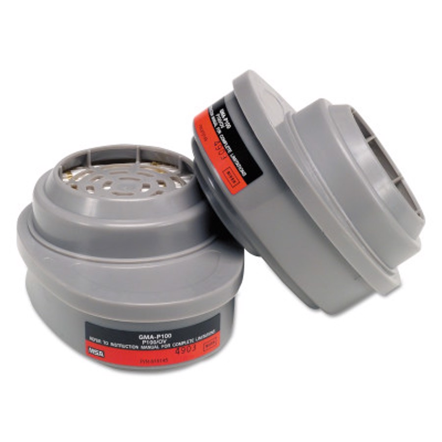 Advantage Respirator Cartridge, Organic Vapor, GMA, P100