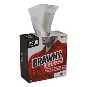 Brawny Industrial  Medium-Duty Wipers, Case, White