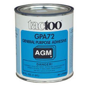 GPA-72 Adhesive, Tan, 1 Gallon