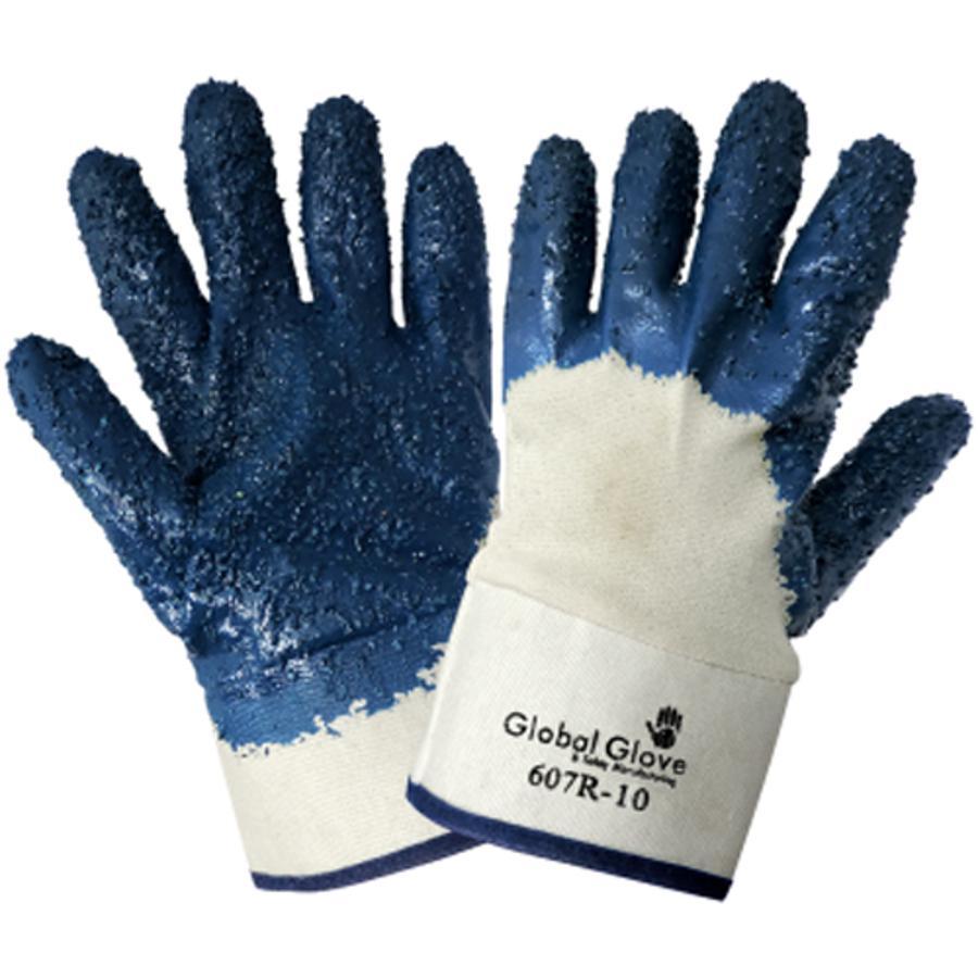 607R-10(XL)- General Purpose Work, Nitrile Diped Gloves