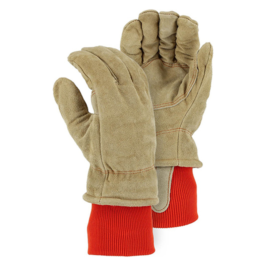 1640 Winter Lined Leather Freezer Glove w/ Thick Insulation