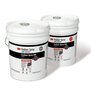 FireDam Spray 200, FD200, Gray, 5 Gallon, Pail