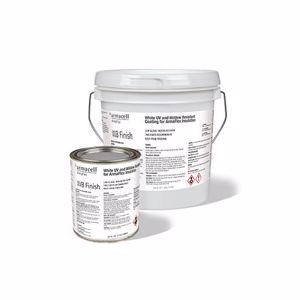 WB Finish, White Paintable Insulation Coating, 1 Gallon