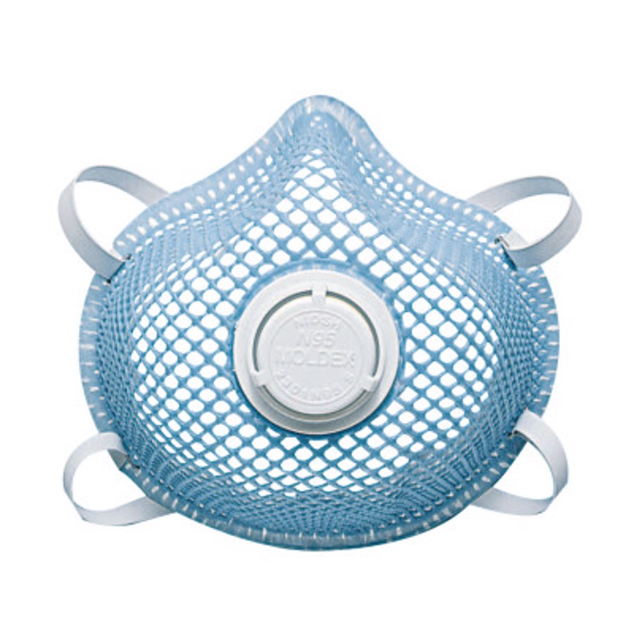 2300 Series N95 Particulate Respirators, Half-facepiece, 2-Strap, Small