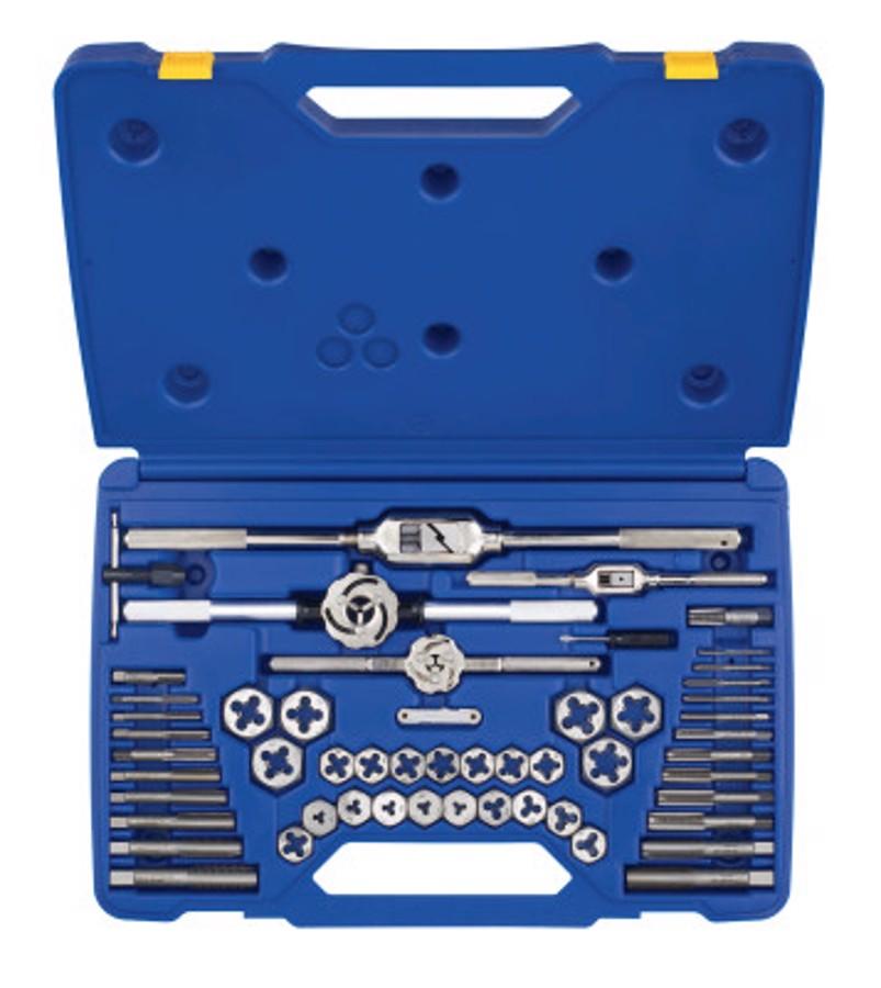 53 Piece Machine Screw / Fractional Tap & Hex Die Set