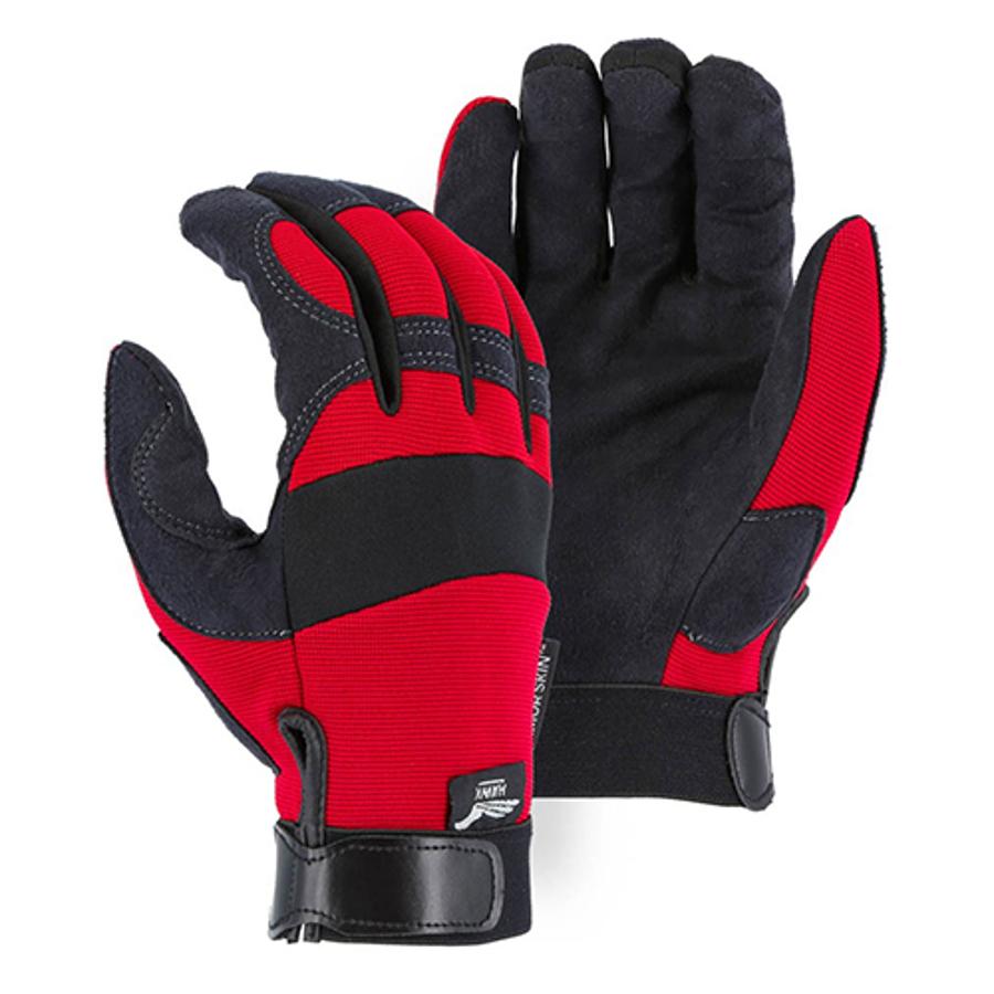 Armor Skin Knit Back Mechanics Glove 2137R, Large