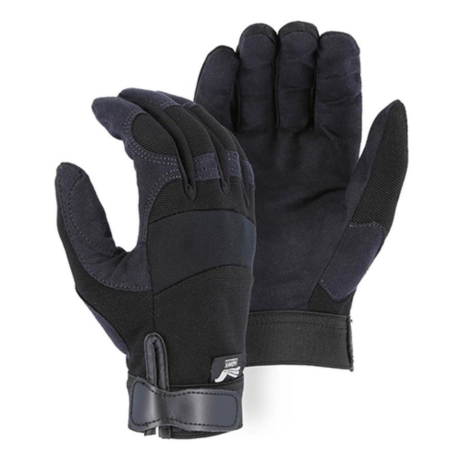 Armor Skin Knit Back Mechanics Glove 2137BK, X-Small
