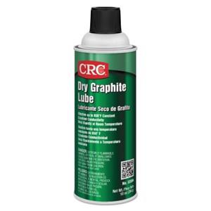 Dry Graphite Lube, 10 oz, Aerosol Can, Black