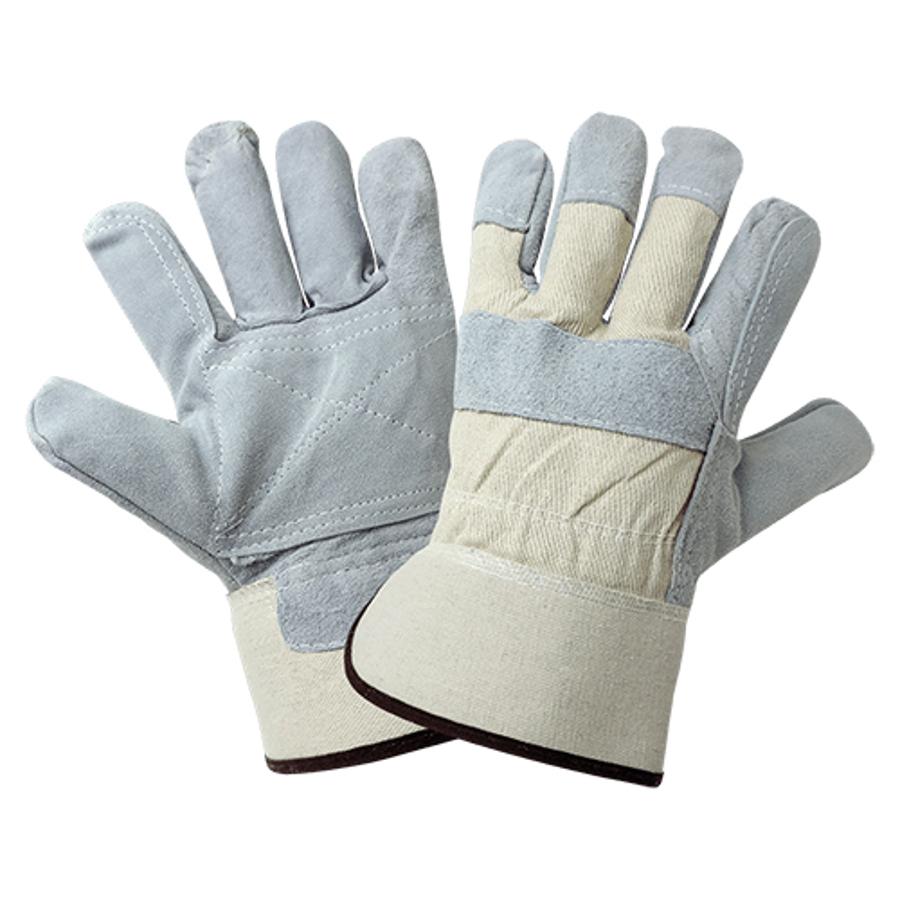 2250DP-10(XL)- Leather Palm, Gunn Cut, Double Palm Glove