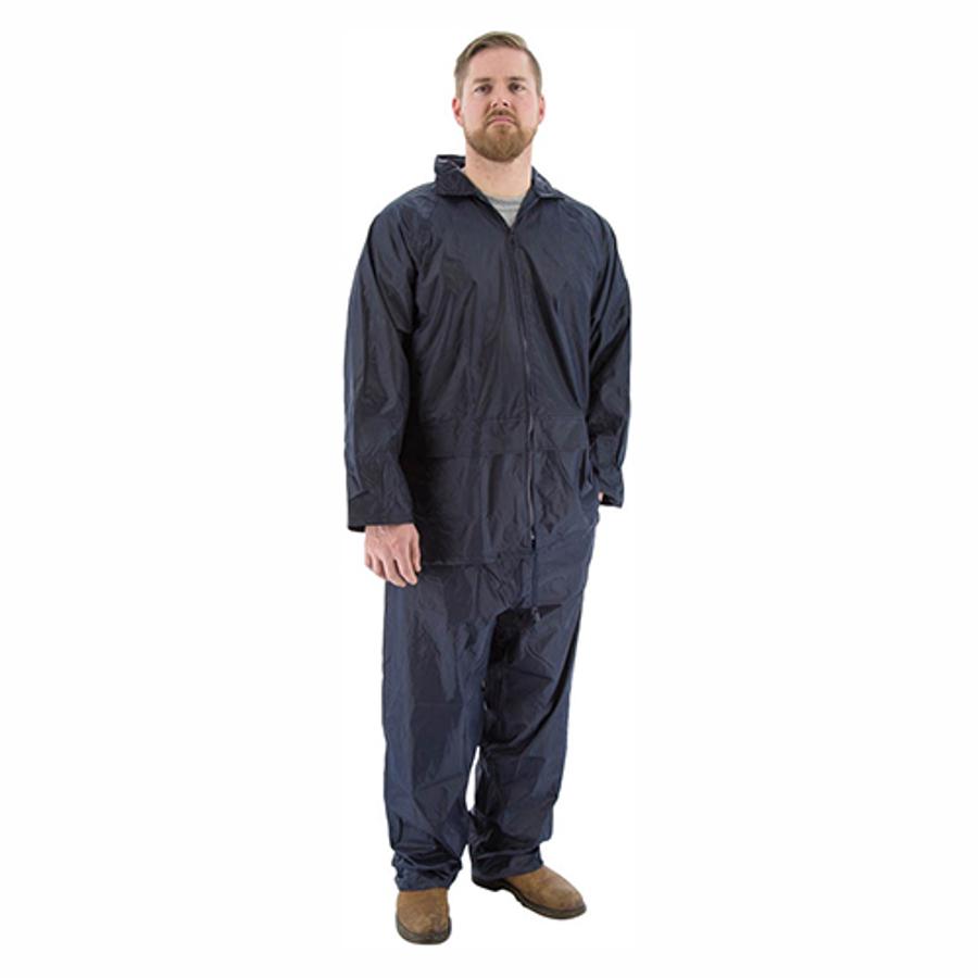 71-2010 2-Piece Hooded Waterproof Rain Suit