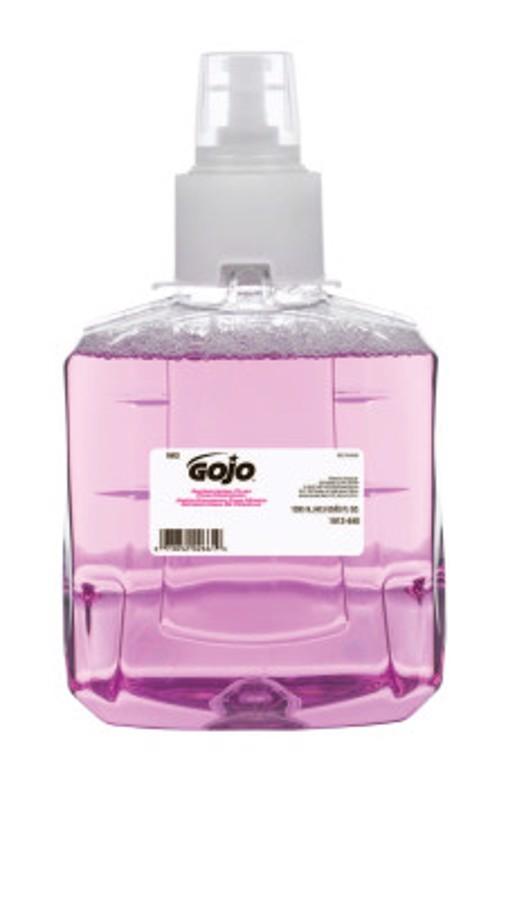 Antibacterial Plum Foam Hand Wash, Bottle w/Valve, 1,200 mL, Bottle with Valve