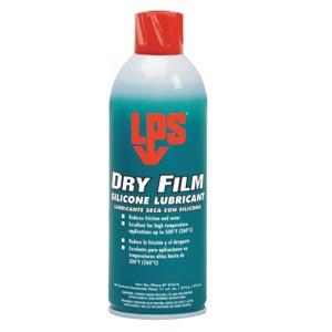 Dry Film Silicone Lubricants, 16 oz Aerosol Can