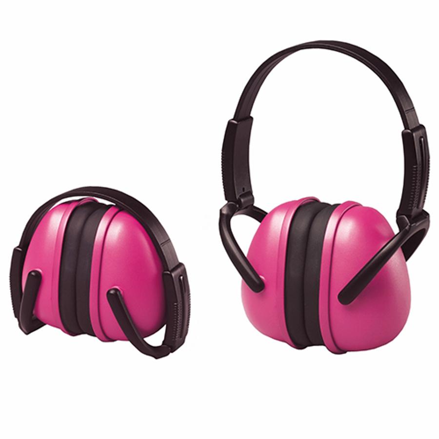 239 Foldable Pink Earmuff
