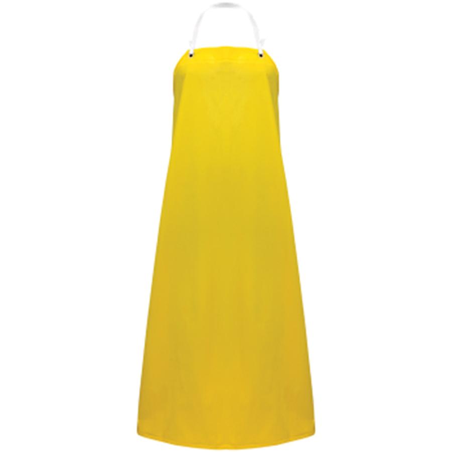 A355Y Yellow PVC /Polyester Apron