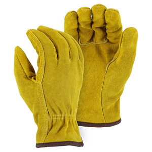 1508F Winter Lined Split Cowhide Drivers Glove