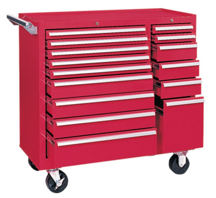 64315 MAINT. Cart 15 Drawer W/Ball Bearing SLD