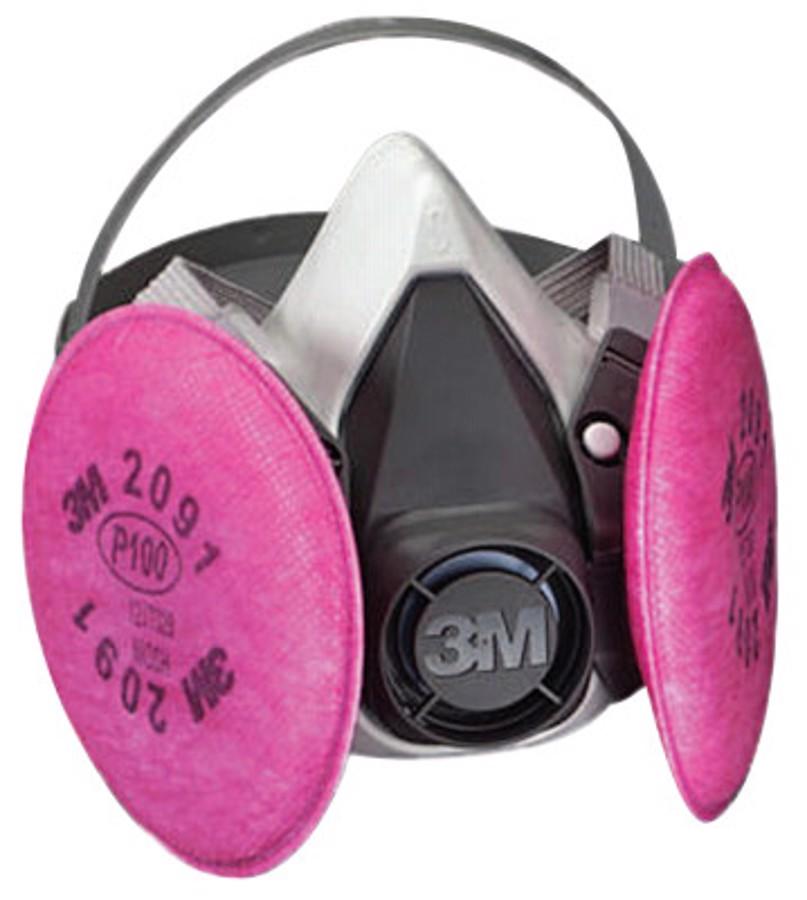 6000 Series Half Facepiece Respirator Assemblies