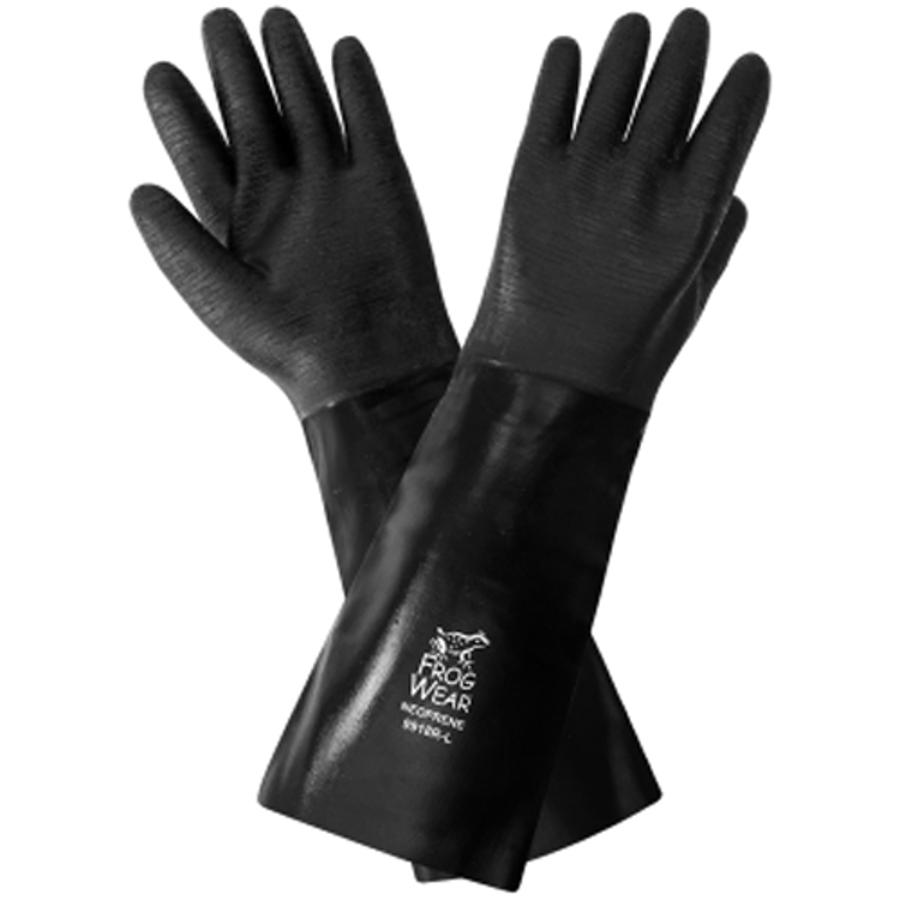 9918R- FrogWear - Premium Neoprene Chemical Handling Gloves