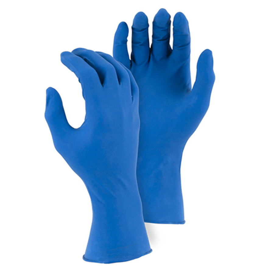 2X-Large, 3282 Disposable Industrial Grade 12 MIL Nitrile Glove
