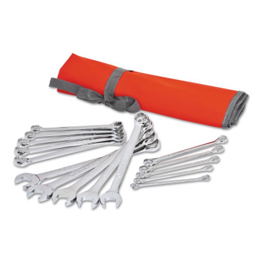 15 Piece Metric Combination Wrench Sets, 12 Points, Metric