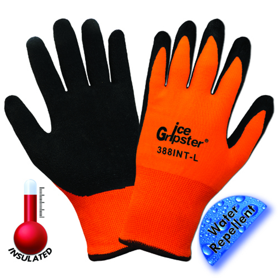 388INT Ice Gripster, General Purpose Flat Dipped Products Ice Gripster Glove