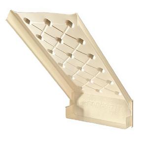 Cardboard Baffle, 24in x 44in, 2in Tabs - No Wax