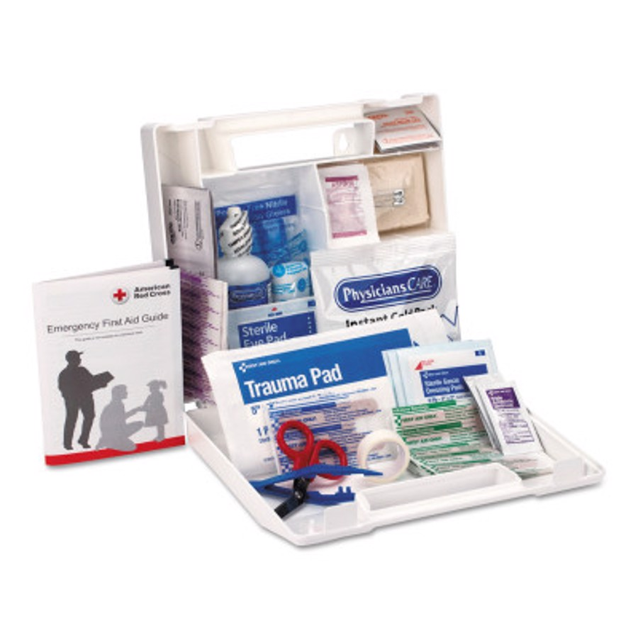 25 Person First Aid Kits, Contractors/Fleet Vehicles/Worksites, 223-U/FAO, Plastic