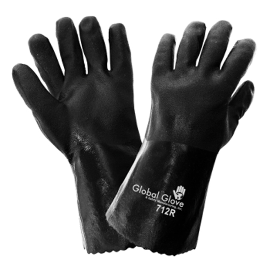 712R-10(XL)- Chemical Resistant Supported Neoprene, PVC and Nitrile Glove
