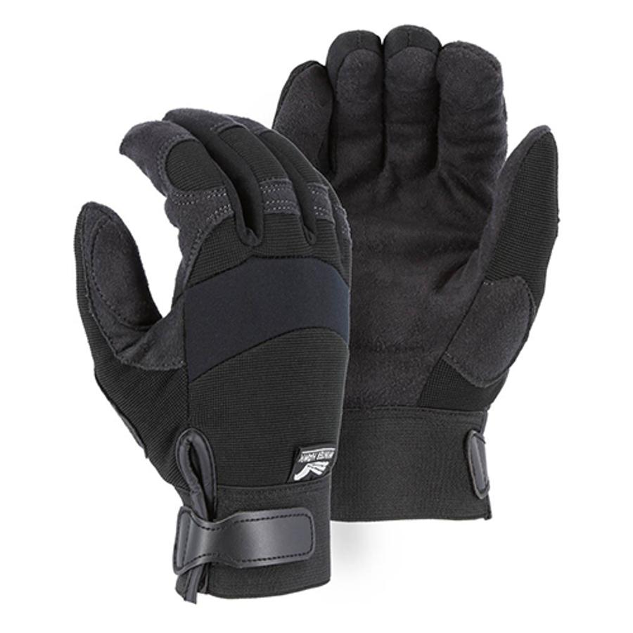 Armor Skin Winter Lined Mechanics Glove 2137BKF, Small
