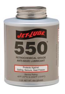 550 Nonmetallic Anti-Seize Compounds, 1 lb Brush Top Can