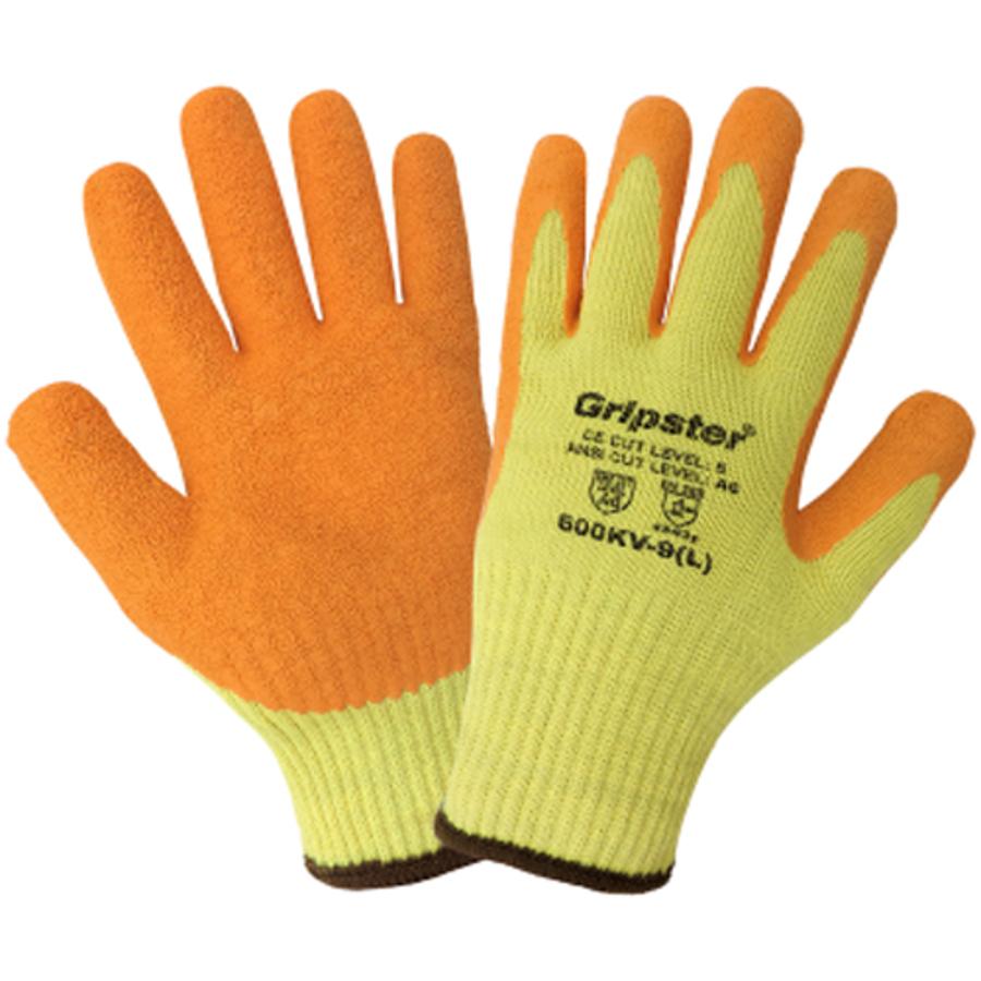 600KV, Gripster, Hi-Vis, Cut Resistant Gloves