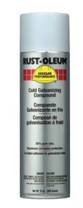High Performance V2100 System Cold Galvanizing Compound, Aerosol Can