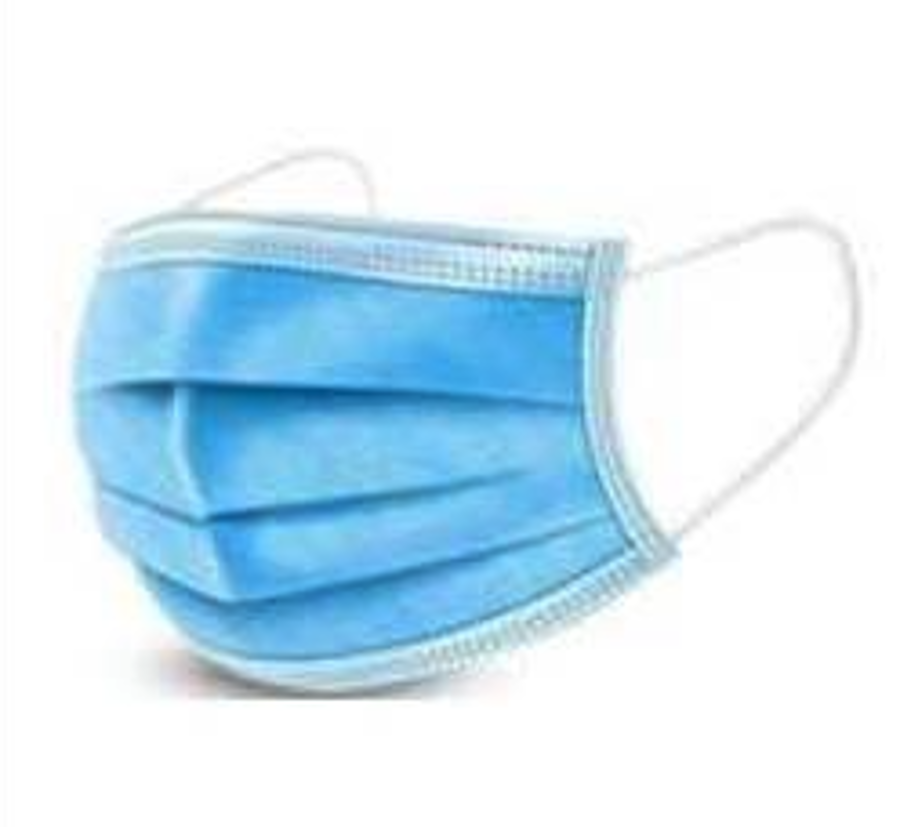 3-Ply Medical Grade Surgical Disposable Mask 95%, 10 per pack