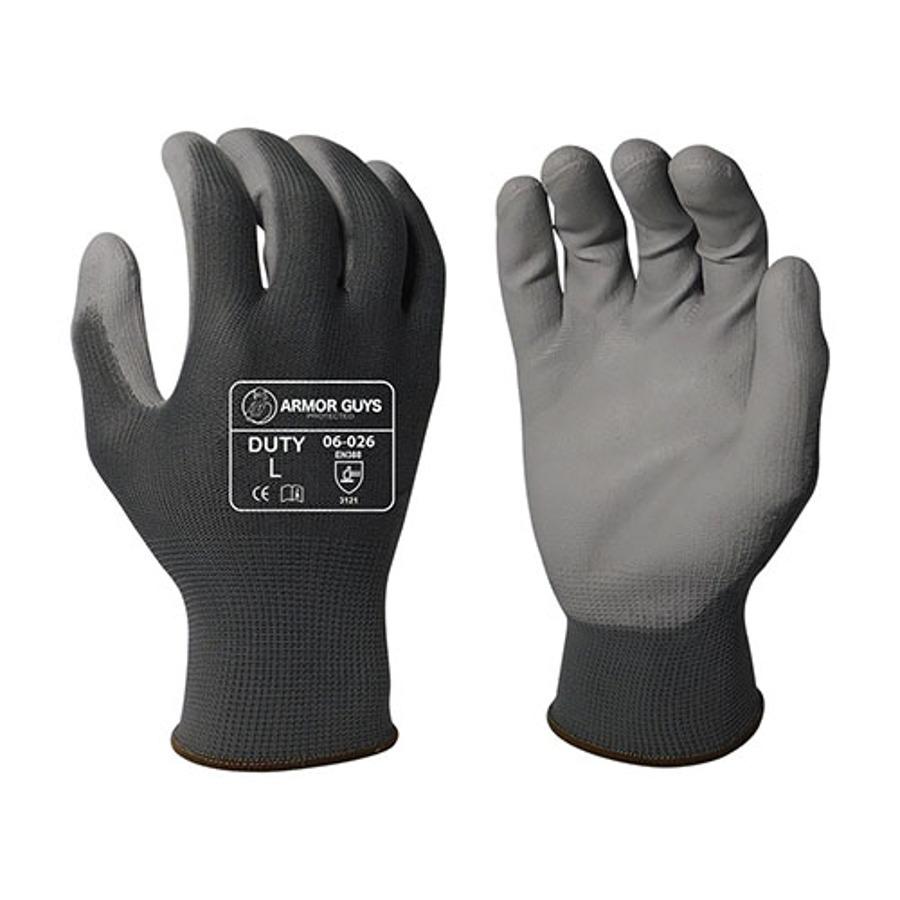 Armor Guys, Gray PU Palm Coating, 13 Ga, 06-026