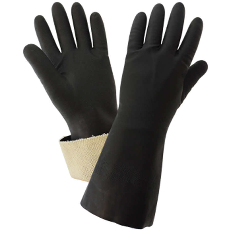 240CT FrogWear, Chemical Resistant Supported Neoprene, PVC and Nitrile Glove