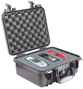 Small Protector Cases, 1400 Case, 8.87 in x 5.18 in x 11.81 in, Black