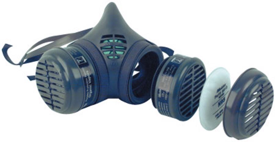 8000 Series Assembled Respirators, Medium, Organic Vapors/N95 Cartridges
